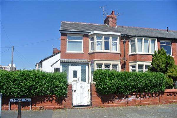 3 Bedrooms End Of Terrace House for sale in Ramsey Avenue, Blackpool