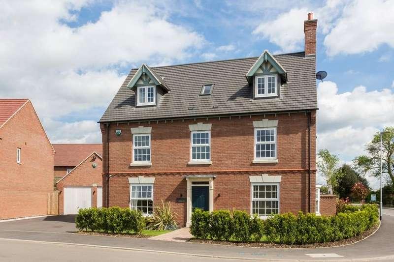5 Bedrooms Detached House for sale in Woodstone Lane, Ravenstone