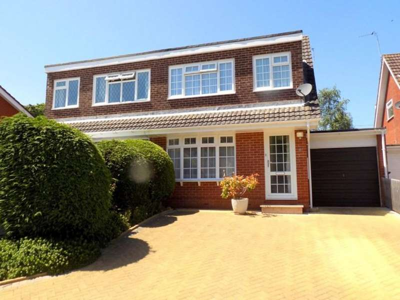 3 Bedrooms Semi Detached House for sale in Meadow View Road, Exmouth