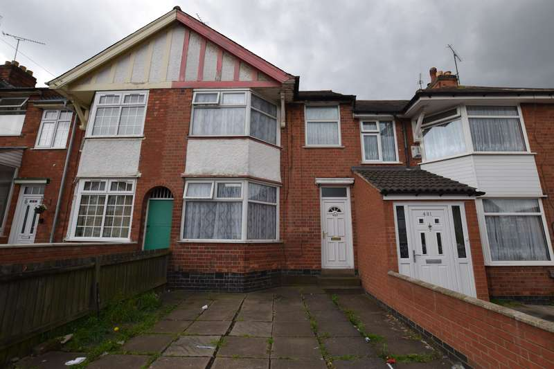 3 Bedrooms Terraced House for sale in St. Saviours Road, Leicester, LE5 4PX