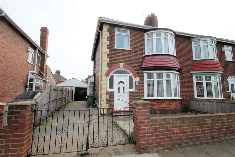 3 Bedrooms Semi Detached House for sale in Weston Crescent, Norton