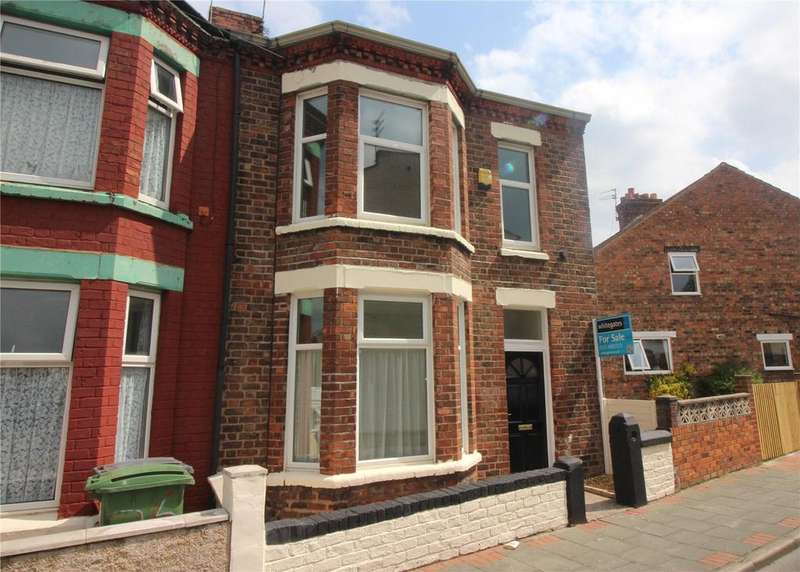 3 Bedrooms End Of Terrace House for sale in Hollybank Road, Birkenhead, Merseyside, CH41