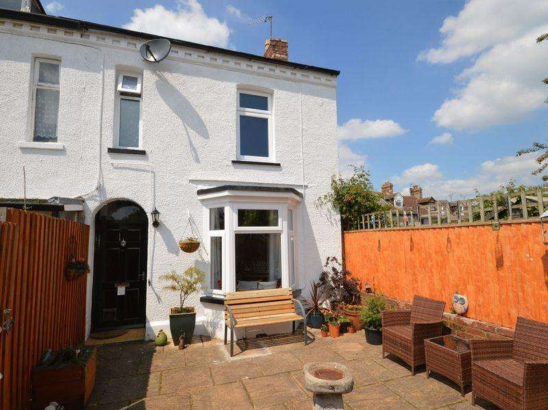 2 Bedrooms End Of Terrace House for sale in Union Road East, Abergavenny