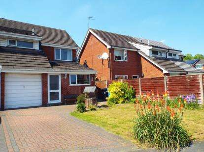3 Bedrooms Semi Detached House for sale in Bowland Close, Beechwood, Runcorn, Cheshire, WA7