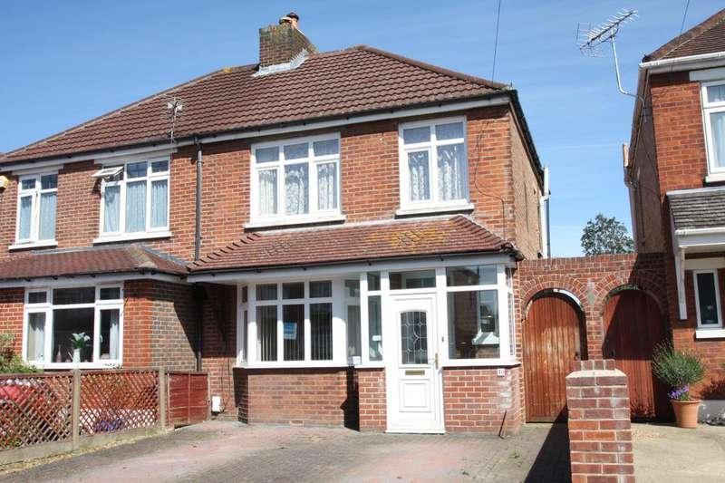 3 Bedrooms Semi Detached House for sale in Fisgard Road, Hardway, Gosport PO12