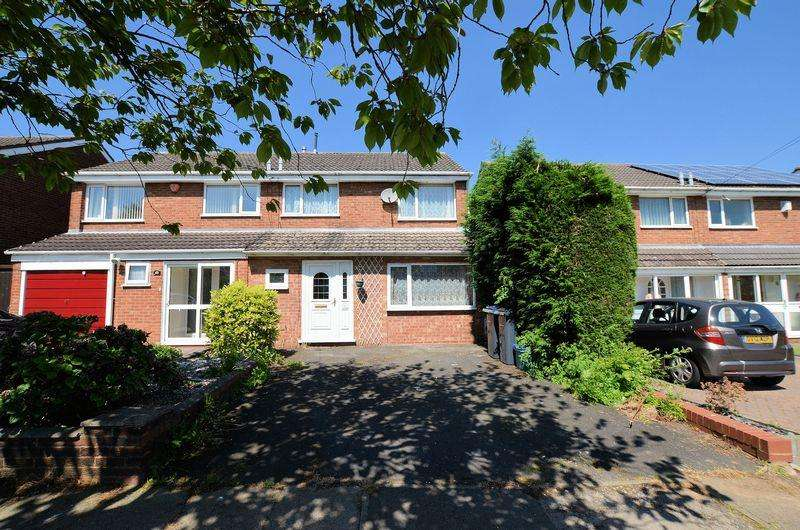 3 Bedrooms Semi Detached House for sale in Kitwell Lane, Bartley Green