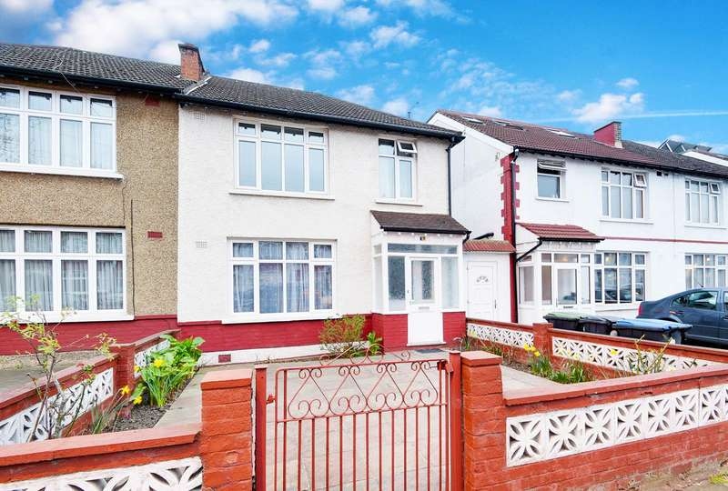 3 Bedrooms Semi Detached House for sale in Upsdell Avenue, Palmers Green, London, N13
