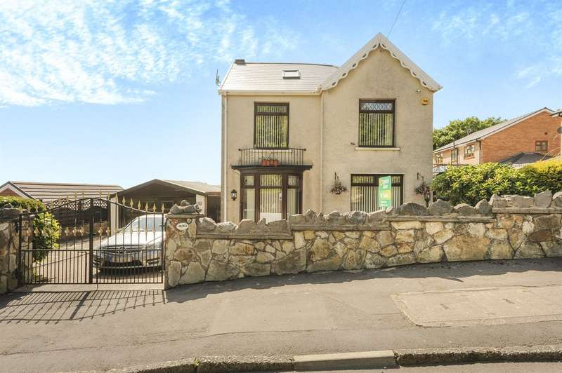 4 Bedrooms Detached House for sale in Old Road, Neath