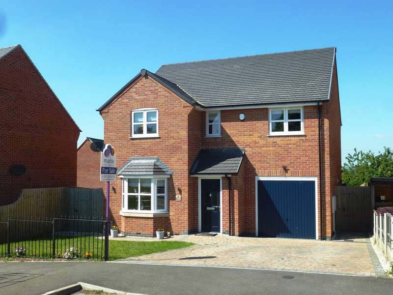 4 Bedrooms Detached House for sale in Roby Lea, Castle Donington