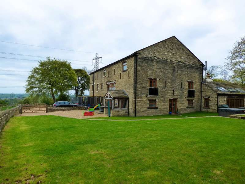 6 Bedrooms Barn Conversion Character Property for sale in Stoney Lane, Southowram, Halifax, HX3 9TE