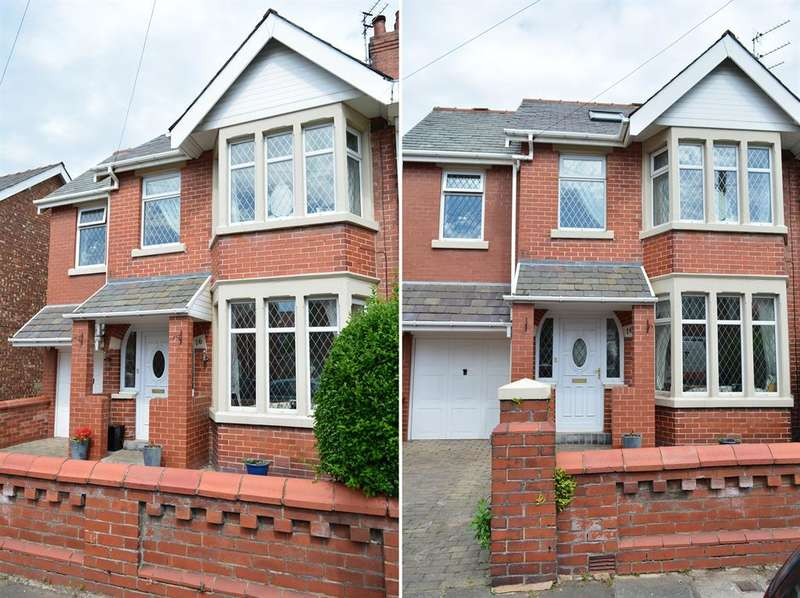 4 Bedrooms Semi Detached House for sale in Mayfair Road, Blackpool, FY1 6QZ
