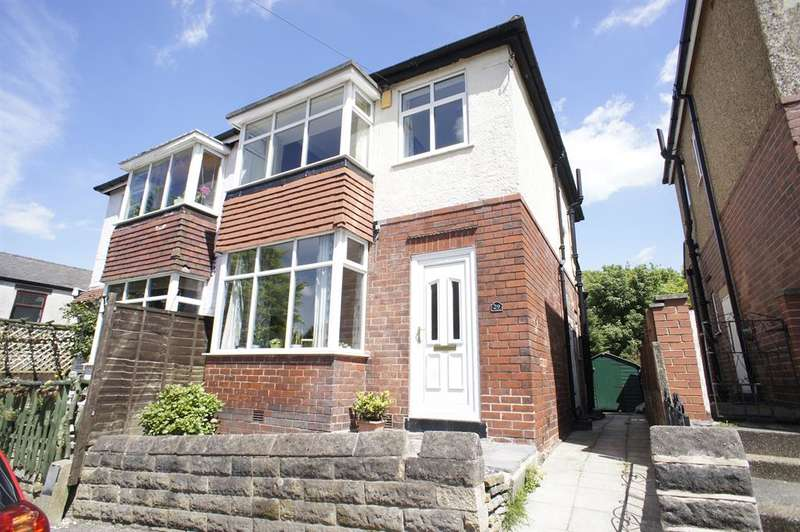 3 Bedrooms Semi Detached House for sale in Woodland Road, Norton Lees, Sheffield, S8 8PD