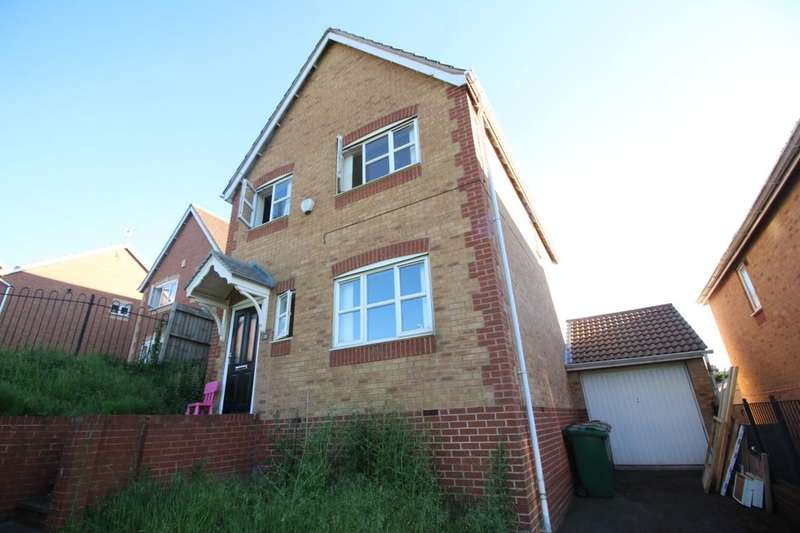 3 Bedrooms Detached House for sale in Plantation Side, Nottingham, NG7