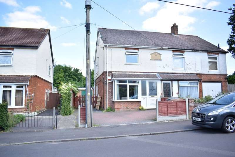 4 Bedrooms Semi Detached House for sale in Batchelors Barn Road, Andover, SP10
