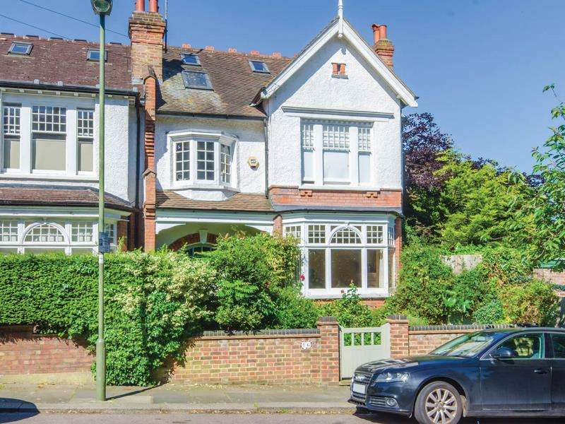 6 Bedrooms End Of Terrace House for sale in Durham Road, N2