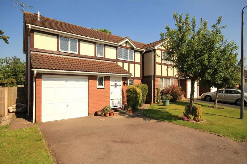 4 Bedrooms Detached House for sale in Haydock Close, Downend, Bristol, BS16