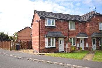 2 Bedrooms Town House for sale in Cairngorm Drive, Sinfin, Derby, DE24 3JT