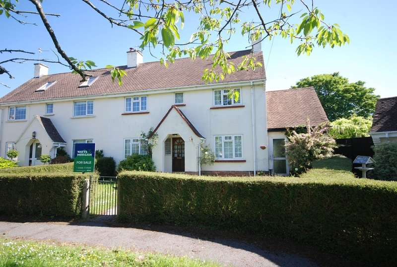 3 Bedrooms Semi Detached House for sale in Maes Y Ffynon, Bonvilston, Vale of Glamorgan, CF5 6TT