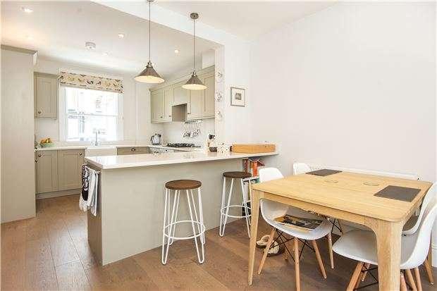 3 Bedrooms Terraced House for sale in Tyneham Road, Battersea, London, SW11