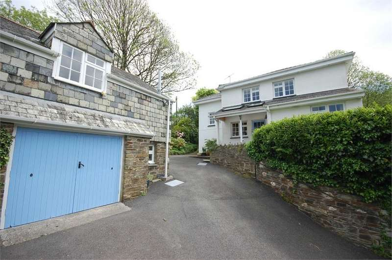 3 Bedrooms Detached House for sale in Hillside, Lerryn, LOSTWITHIEL, Cornwall