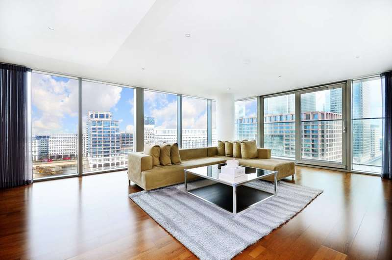 3 Bedrooms Flat for sale in Landmark, Canary Wharf, E14