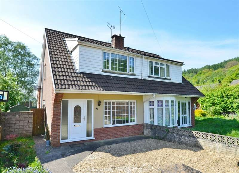3 Bedrooms Semi Detached House for sale in Glyn Bedw, Llanbradach, Caerphilly, CF83