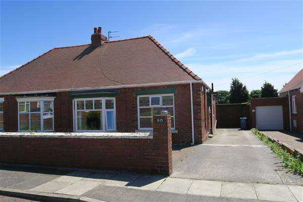 2 Bedrooms Bungalow for sale in Readhead Road, South Shields