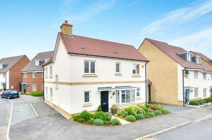 3 Bedrooms Detached House for sale in Maldives Terrace, Bletchley, Milton Keynes, Buckinghamshire