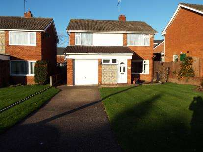 Detached House for sale in The Broadway, Nantwich, Cheshire