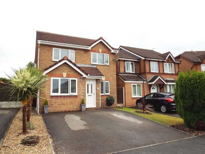 4 Bedrooms Detached House for sale in Turnstone Drive, Halewood, L26