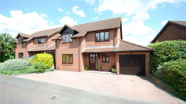 4 Bedrooms Detached House for sale in Pimento Drive, Earley, Reading