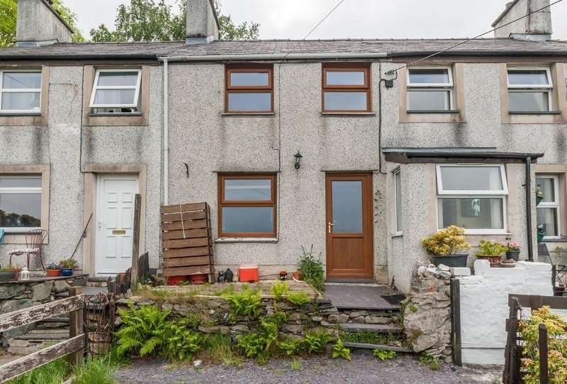2 Bedrooms Terraced House for sale in Cilfoden Cottages, Bethesda, North Wales
