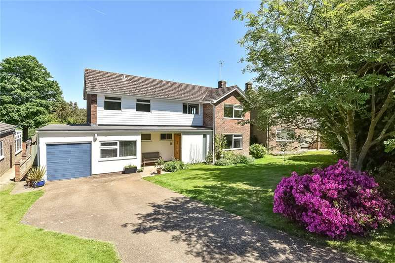 4 Bedrooms Detached House for sale in Cobhams, Speldhurst