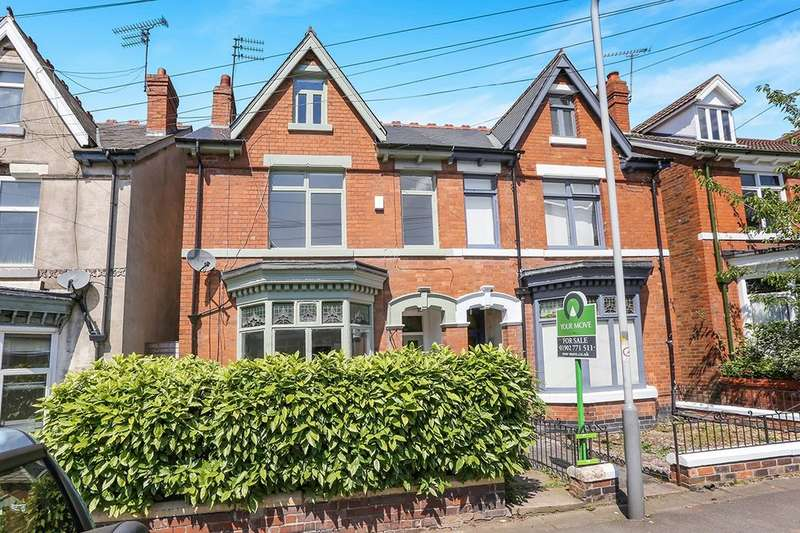4 Bedrooms Semi Detached House for sale in Clark Road, Wolverhampton, WV3