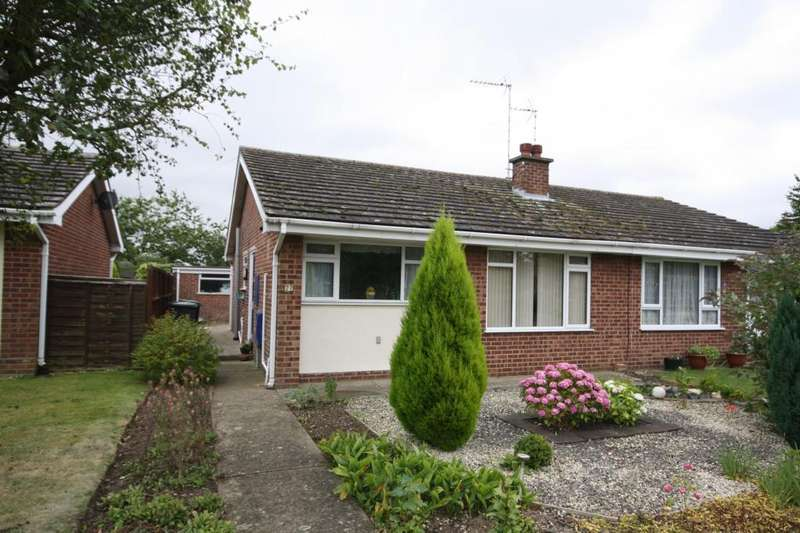 2 Bedrooms Semi Detached Bungalow for sale in Little Hale Road, Great Hale, Sleaford, Lincolnshire, NG34