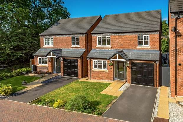 4 Bedrooms Detached House for sale in Kings Court, BRIDGNORTH, Shropshire