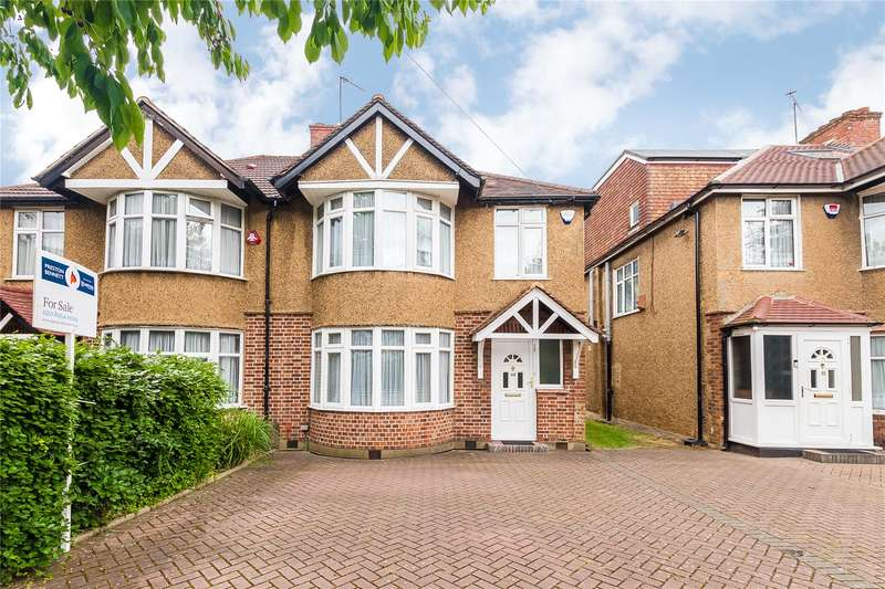 3 Bedrooms Semi Detached House for sale in Belmont Lane, Stanmore, HA7