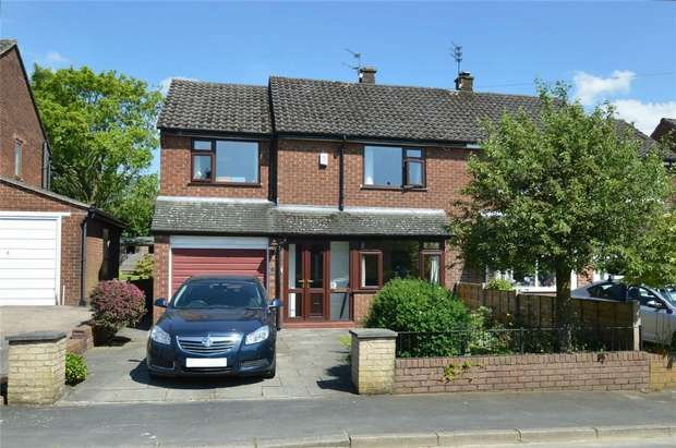 3 Bedrooms Semi Detached House for sale in Barnfield Road, Bollington, Macclesfield, Cheshire