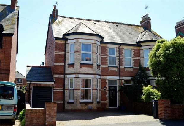 4 Bedrooms Semi Detached House for sale in 11 Lyndhurst Road, EXMOUTH, Devon