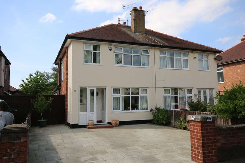 3 Bedrooms Semi Detached House for sale in Carisbrooke Drive, Churchtown, Southport