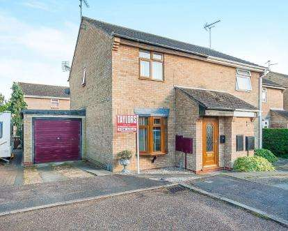 3 Bedrooms Semi Detached House for sale in Uldale Way, Gunthorpe, Peterborough, Cambridgeshire