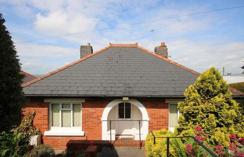 2 Bedrooms Detached Bungalow for sale in Bank Crescent, Ledbury, HR8