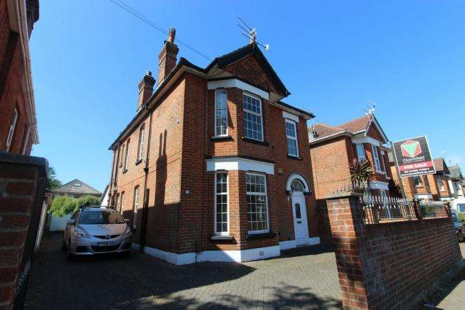 4 Bedrooms Detached House for sale in Alma Road, Charminster