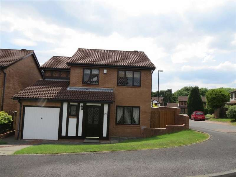 4 Bedrooms Detached House for sale in Haydon, Fatfield, Washington