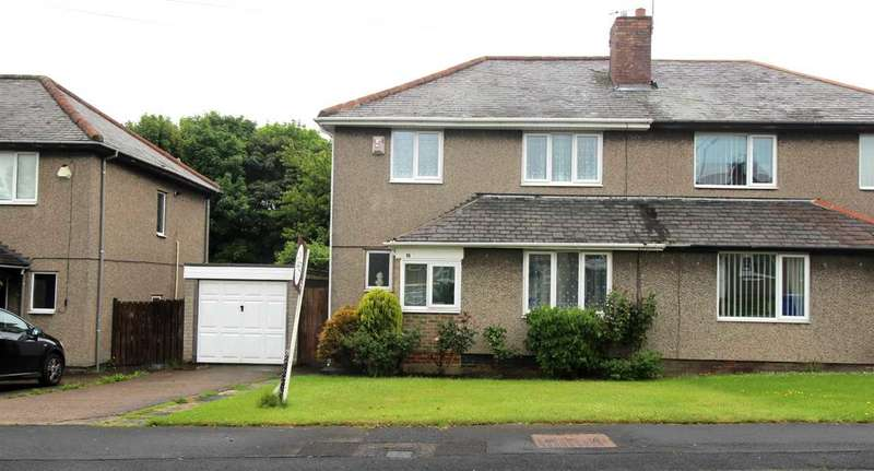3 Bedrooms Semi Detached House for sale in Sea View Villas, Mayfield Grange, Cramlington
