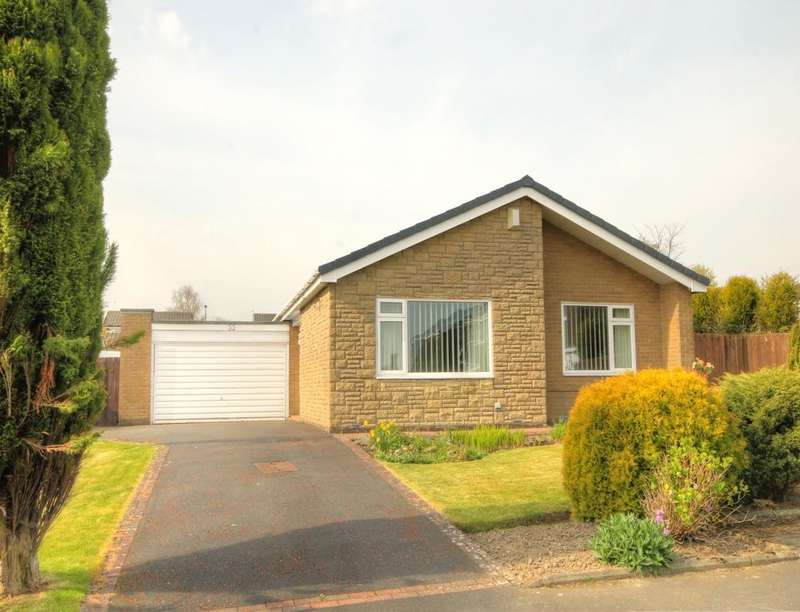 3 Bedrooms Detached Bungalow for sale in Ingram Drive, Chapel Park, Newcastle Upon Tyne, NE5