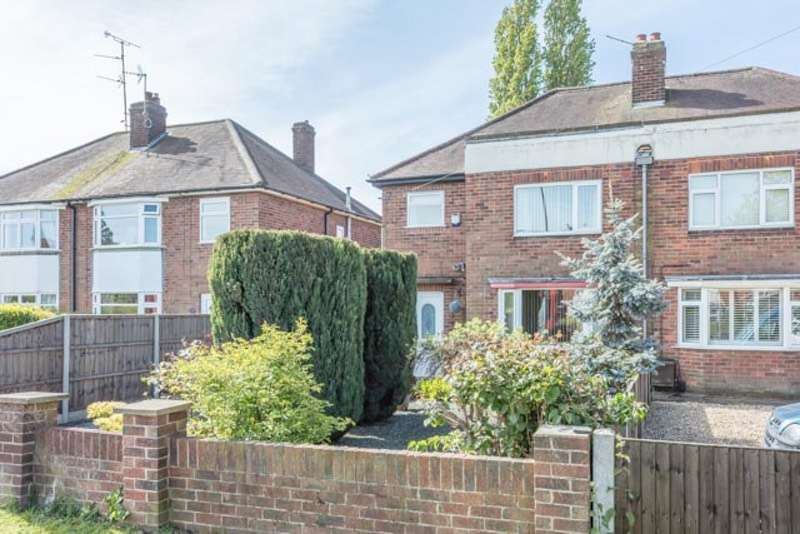 3 Bedrooms Semi Detached House for sale in Doddington Road, Lincoln, Lincolnshire, LN6