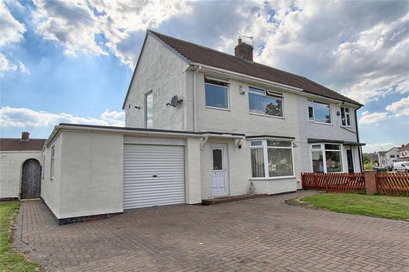 3 Bedrooms Semi Detached House for sale in Ragpath Lane, Roseworth