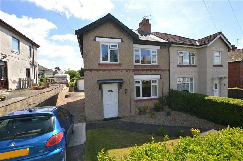 3 Bedrooms Semi Detached House for sale in Woodhill View, Wetherby, West Yorkshire