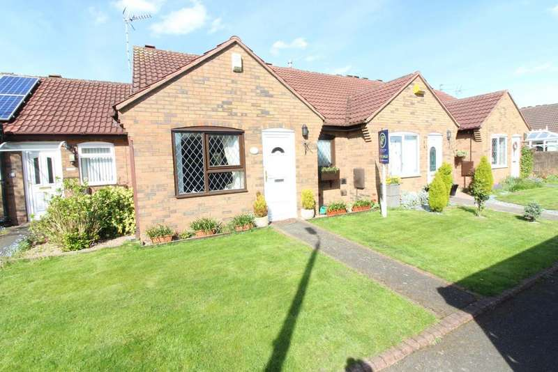 2 Bedrooms Terraced Bungalow for sale in Belvoir Close, Breaston